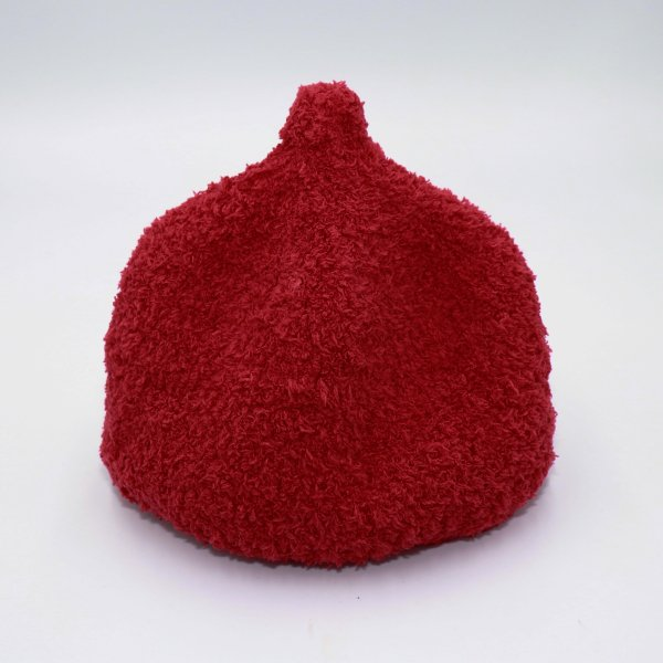 【shapox】どんぐりワッチ帽|レッド