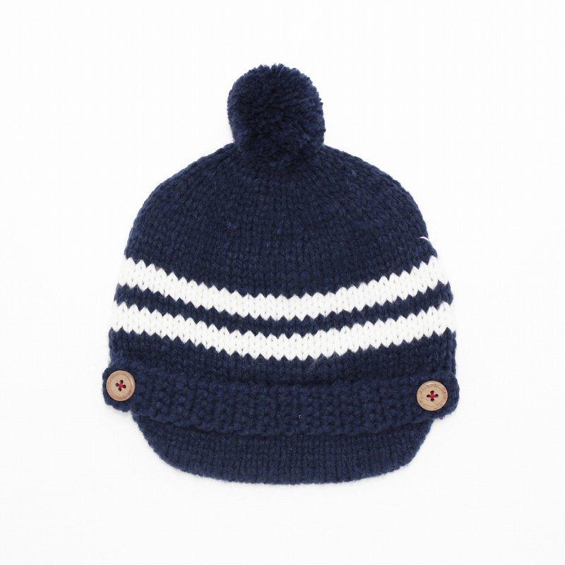 【shapox】キャスケットニット帽|コン