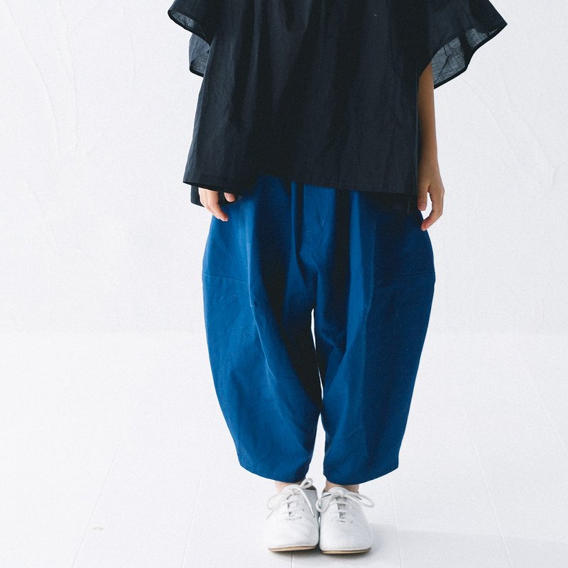 【nunuforme】ポインテットパンツ|ブルー|95-145cm