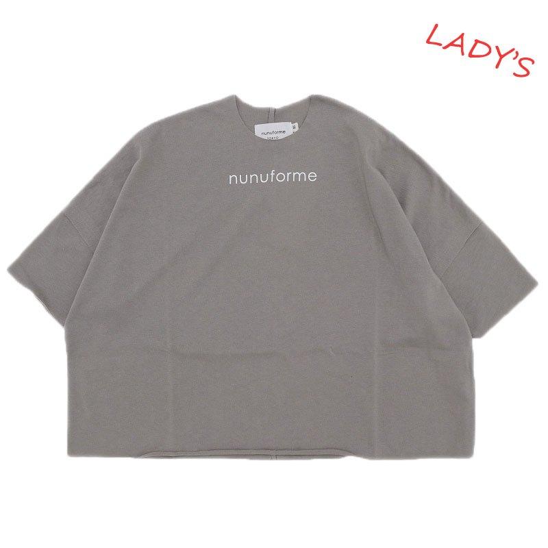 【nunuforme】nunuforme Tシャツ|グレージュ|レディース