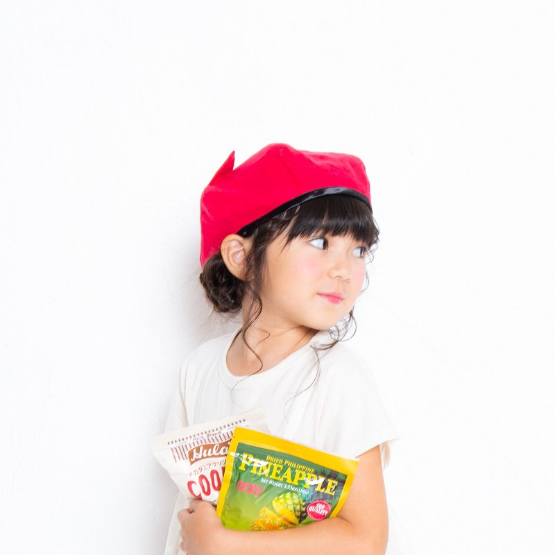 【nino】ねこ耳ベレー帽|ピンク