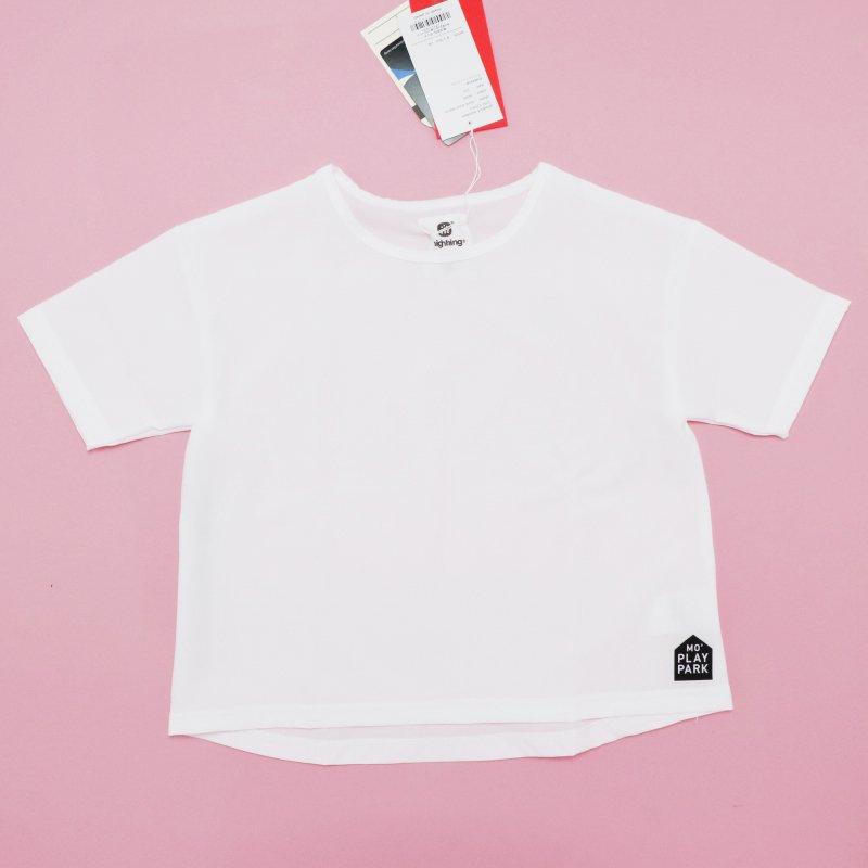 【highking】mark short sleeve|ホワイト