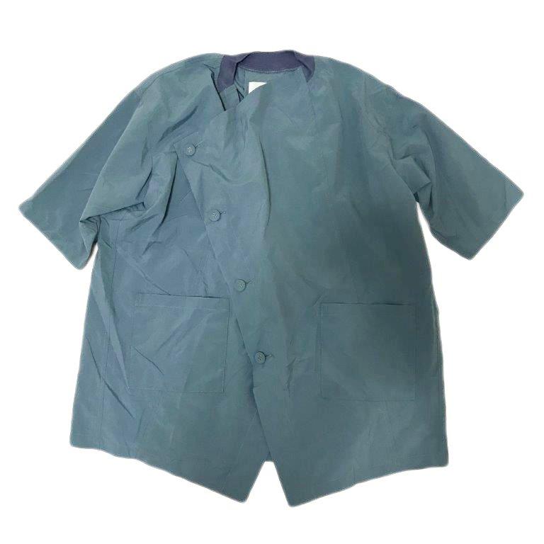 【nunuforme】クロスコート|ライトブルー|レディース