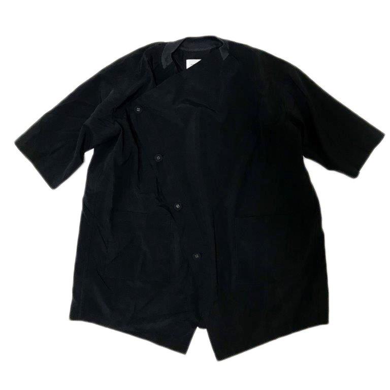【nunuforme】クロスコート|ネイビー|レディース