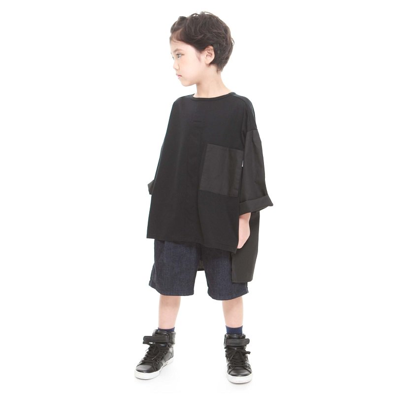 【MLP】Boys shirts Tシャツ|ブラック|90-150cm