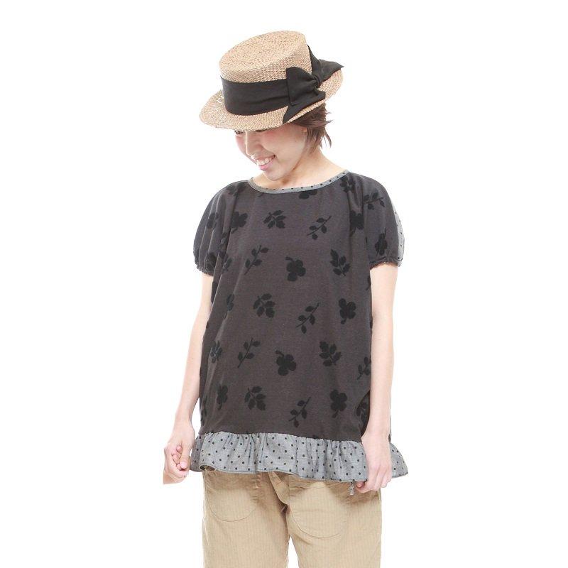 【MoL】michikusaガールズTシャツ|ブラック|レディース