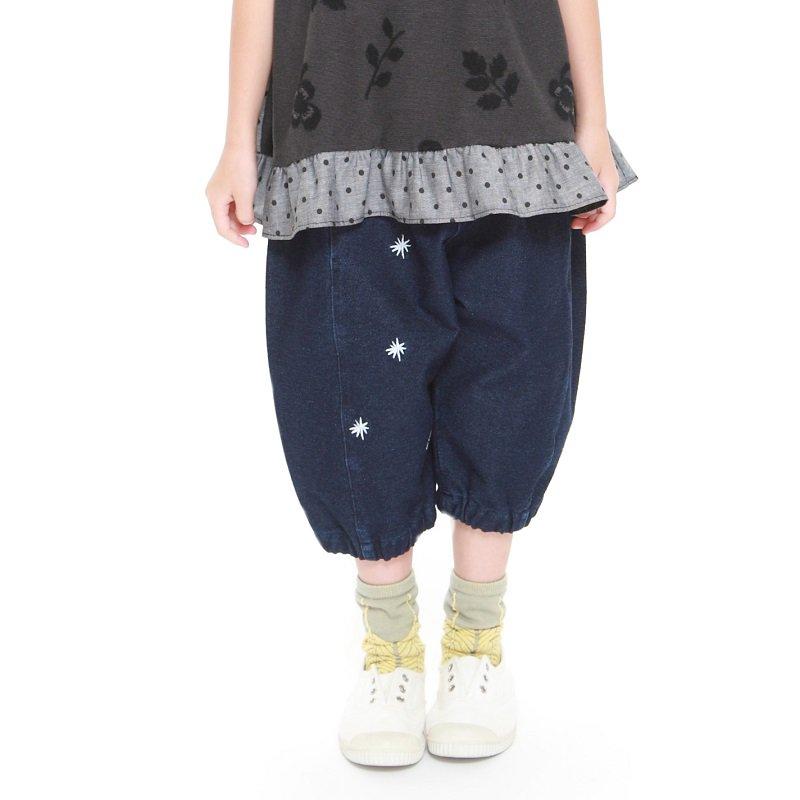 【MoL】クッツキムシパンツ|ネイビー|90-150cm