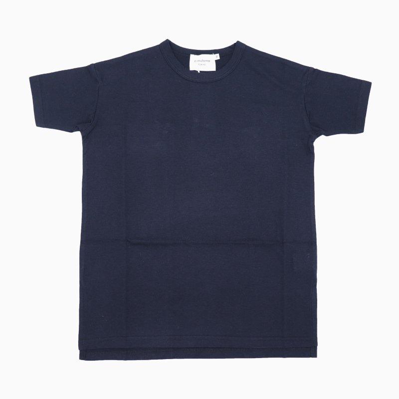 【nunuforme】ビッグロングTシャツ|ネイビー|95-145cm