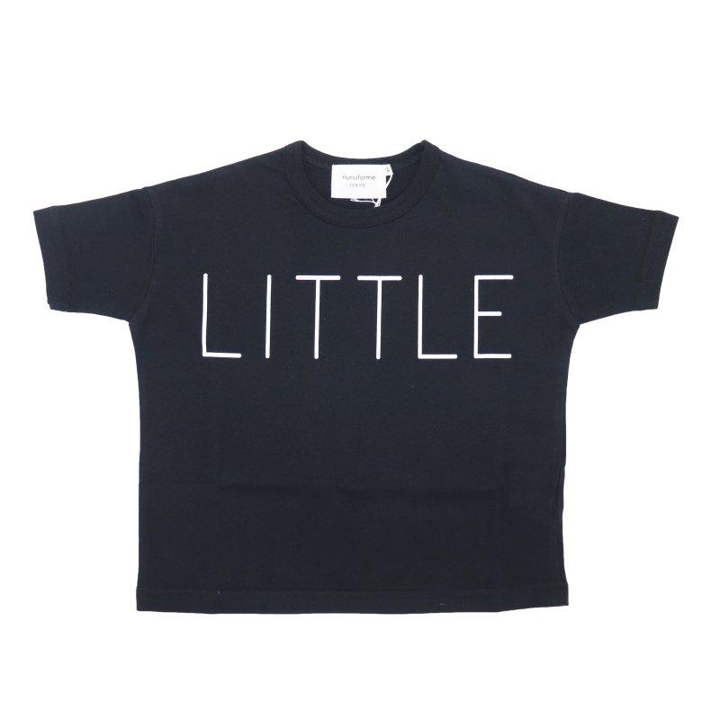 【nunuforme】little Tシャツ|ブラック|95-145cm