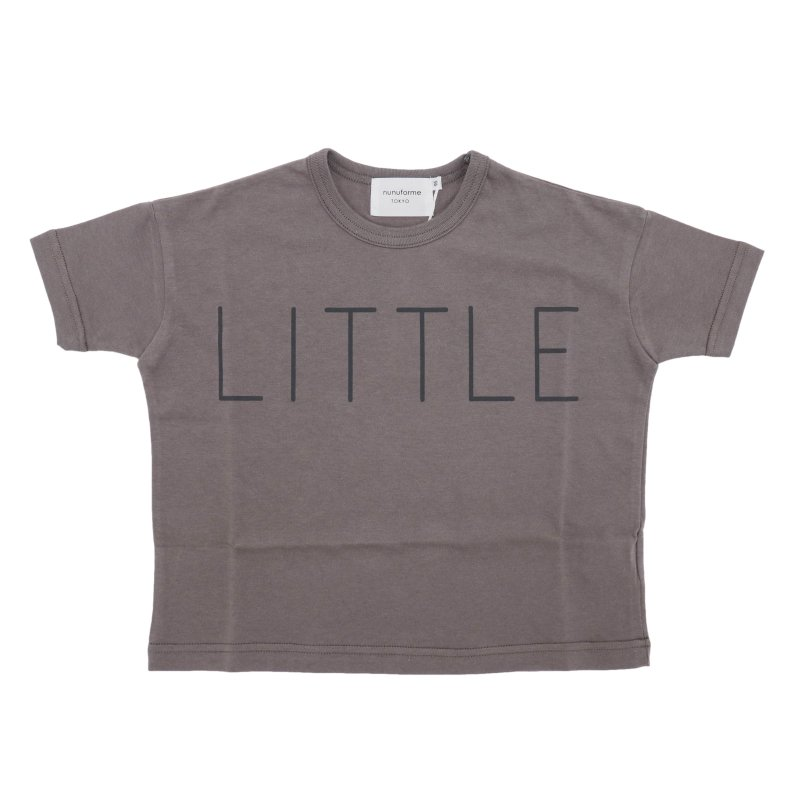 【nunuforme】little Tシャツ|チャコール|95-145cm