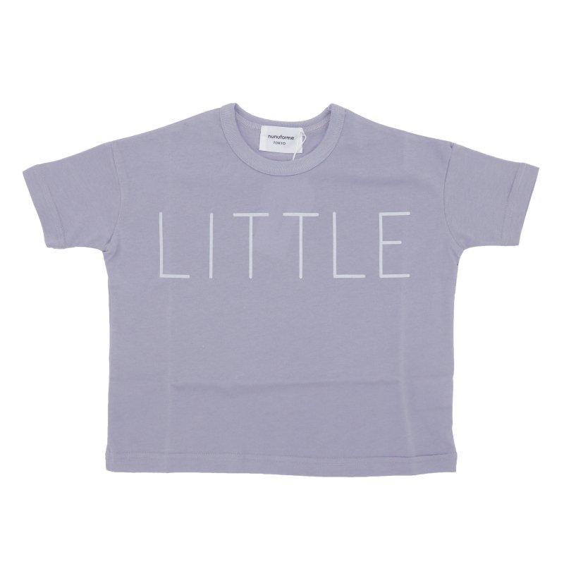 【nunuforme】little Tシャツ|ライトパープル|95-145cm