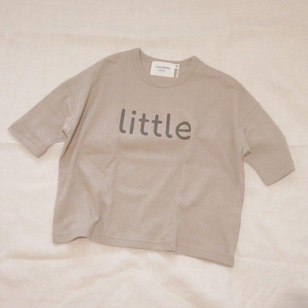 【nunuforme】little ロングTシャツ|ベージュ|85-125cm