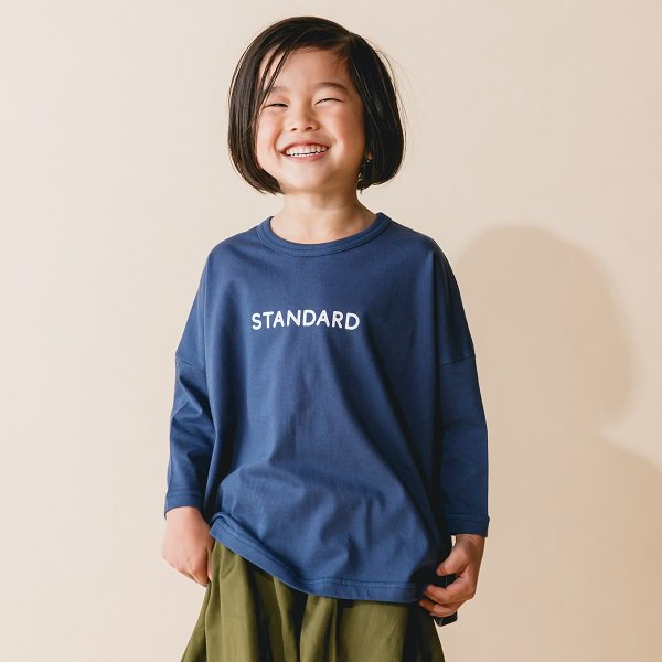 【nunuforme】STANDARD Tシャツ|ネイビー|95-125cm