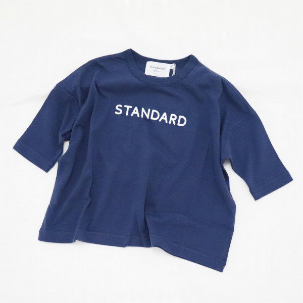 【nunuforme】STANDARD Tシャツ|ネイビー|レディース&メンズ