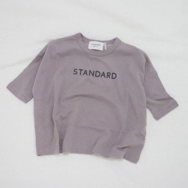【nunuforme】STANDARD Tシャツ|ピンクベージュ|レディース