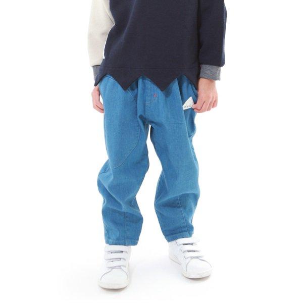 【MoL】コロリンパンツ|ライトブルー|90-150cm
