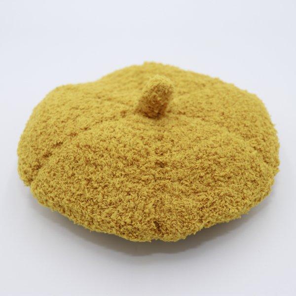 【shapox】ベレー帽|カラシ