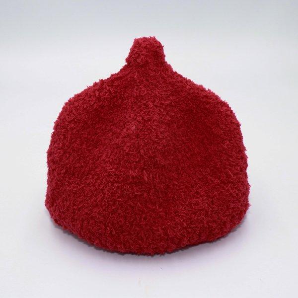 【shapox】どんぐりワッチ帽|アカ