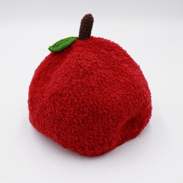 【shapox】リンゴワッチ帽|アカ