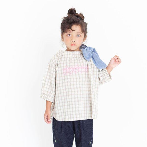 【MoL】ストロベリープレゼントTシャツ|オールドブラウン|90-150cm、レディース