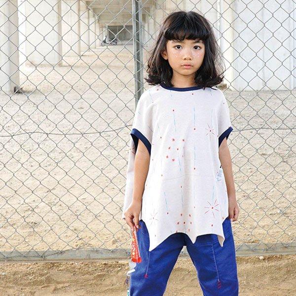 【MoL】SKYROCKET-Tシャツ|オフ|80-150cm、レディース