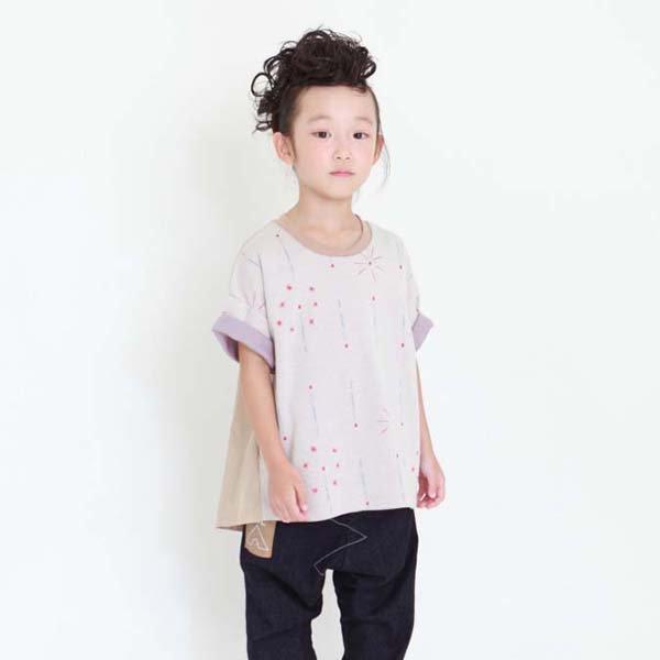 【MoL】静けさスパークル Tシャツ|オフ|90-120cm