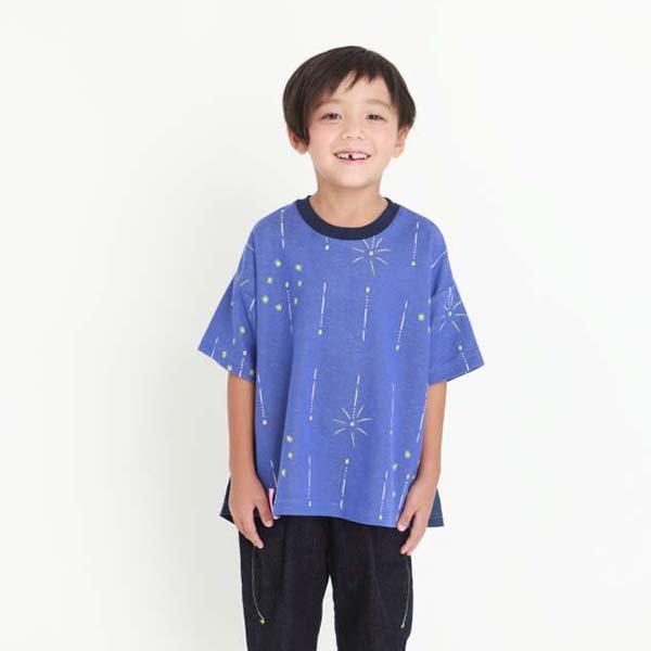 【MoL】静けさスパークル Tシャツ|ネイビー|90-120cm