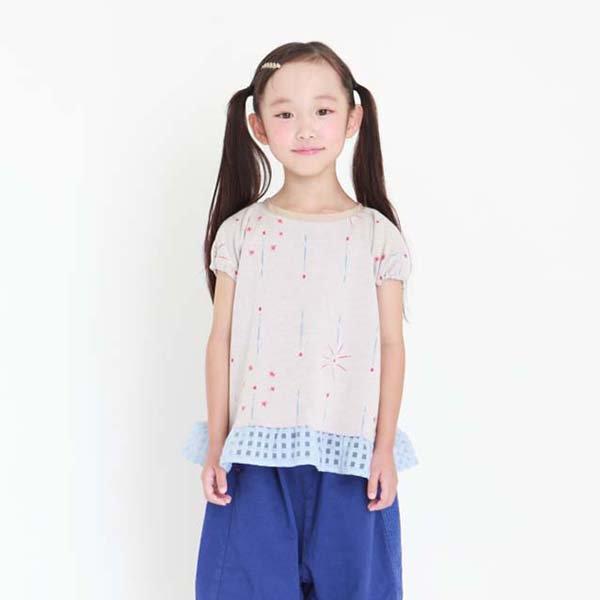 【MoL】静けさスパークル Girls-Tシャツ|オフ|90-120cm