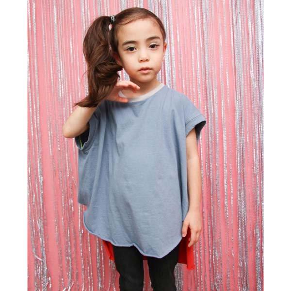 【geewhiz】neonte/ノースリーブTシャツ|ブルー|85-145cm