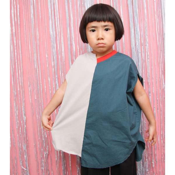【geewhiz】manmarl/Tシャツ|グレー|85-145cm
