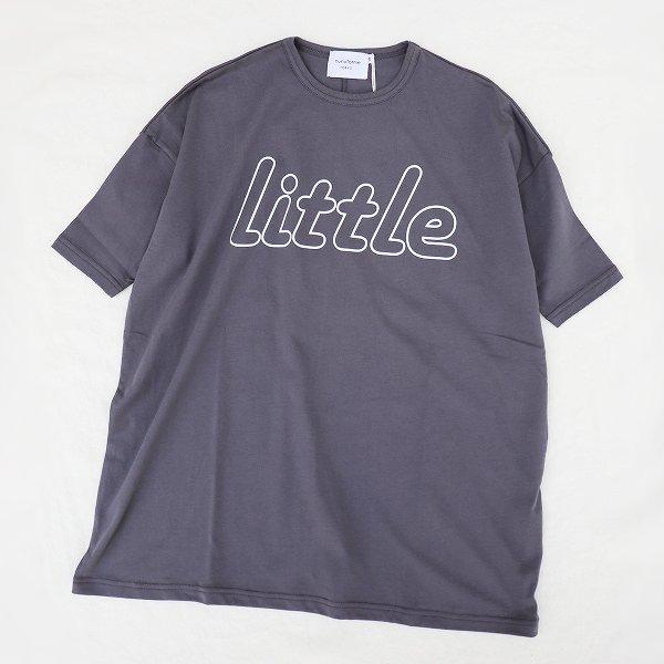 【nunuforme】リトルロングTシャツ|グレー|95-125cm