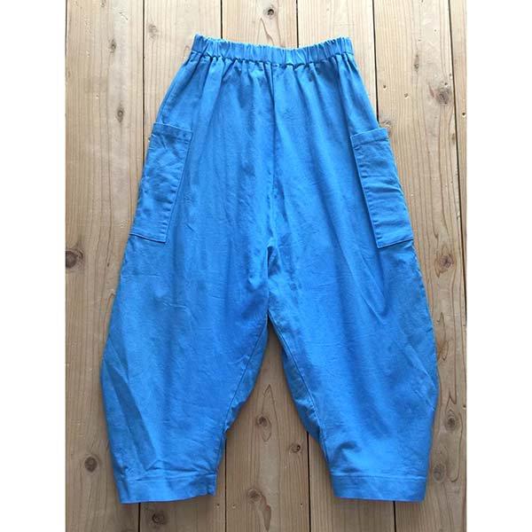 【MoL】シッポスナップパンツ|オールドブルー|90〜150cm、レディース