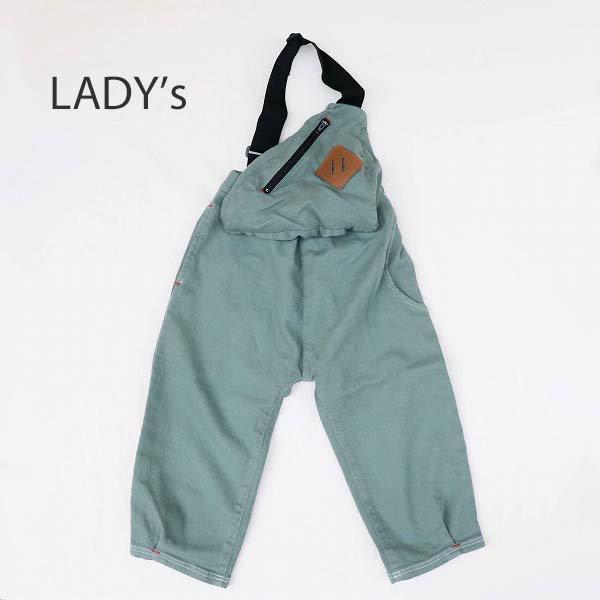 【MLP】shoulder bag パンツ|モスグリーン|レディース