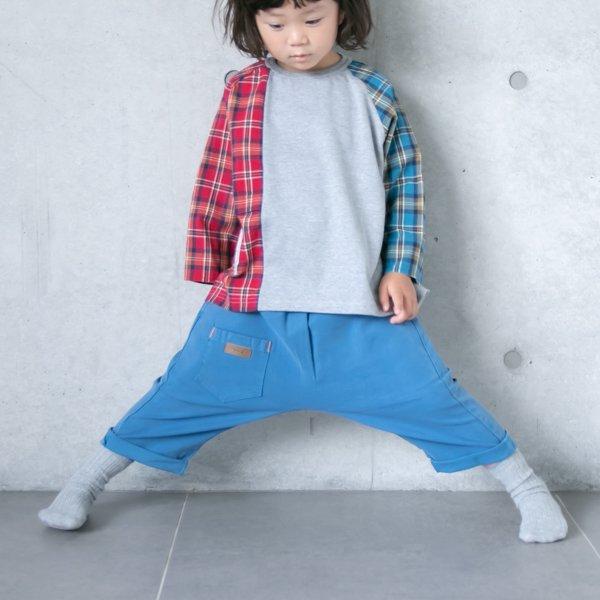 【MoL】shippo パンツ|ペールブルー|80〜150cm
