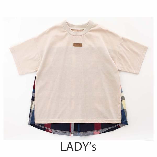 ≪先行予約≫【MoL】wing Tシャツ|オフ|レディース|3月上旬入荷予定
