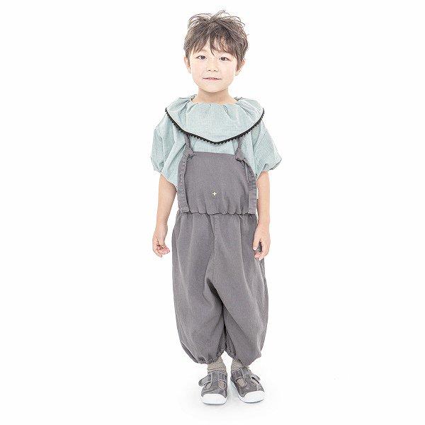 【MoL】salopette パンツ|チャコール|90〜150cm