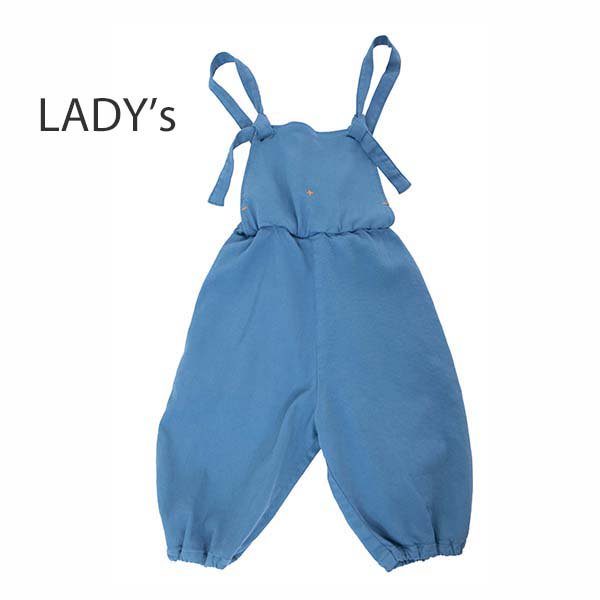 【MoL】salopette パンツ|ペールブルー|レディース