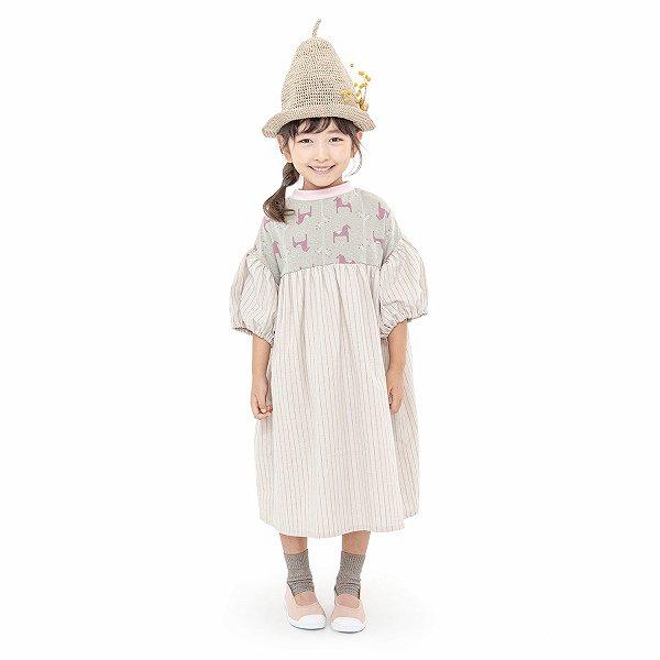 【MoL】miniature garden ワンピース|モスピンク|90-150cm