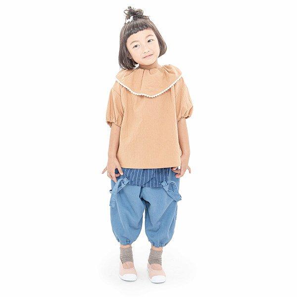 【MoL】dwarf シャツ|ナッツ|90-150cm