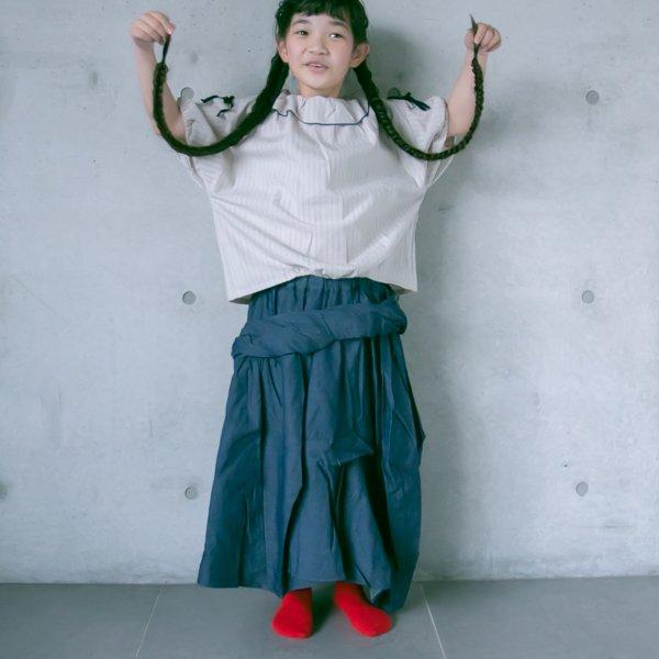 【nunuforme】ドレープスカート|ブリーチ|115-135cm