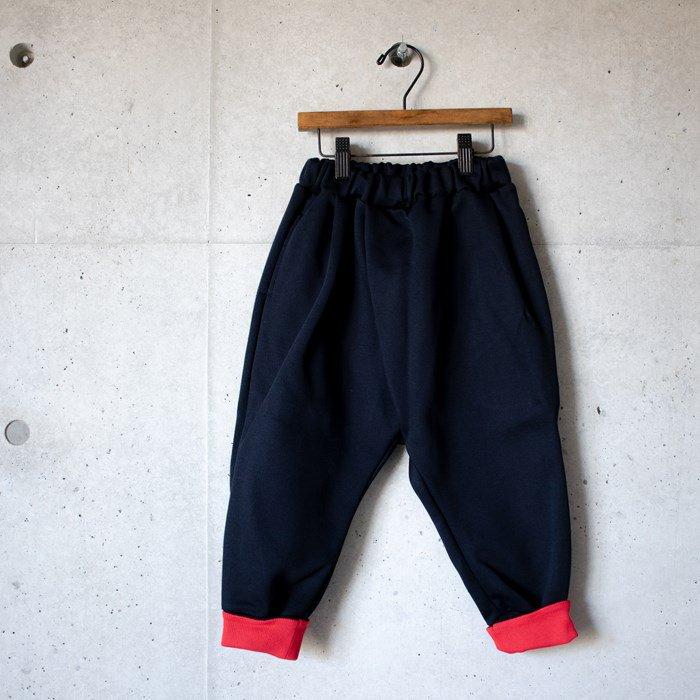 【MLP】black/red pants パンツ ブラック 90-150cm