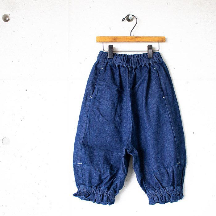 【MoL】puff denim パンツ ネイビー 90〜150cm