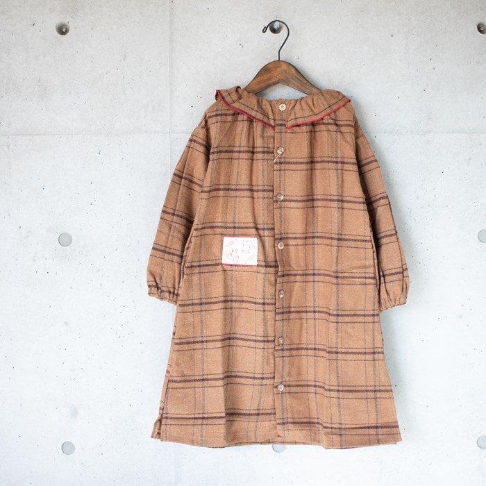 ≪先行予約≫【MoL】shirts ワンピース ブラウン 90-150cm