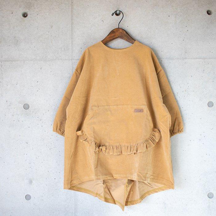 【MoL】apron ワンピース マスタード 90-150cm