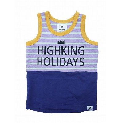 <img class='new_mark_img1' src='https://img.shop-pro.jp/img/new/icons20.gif' style='border:none;display:inline;margin:0px;padding:0px;width:auto;' />【highking】holiday tank|パープル