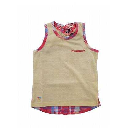 【highking】 ruuryi tanktop (イエロー) 90-120cm