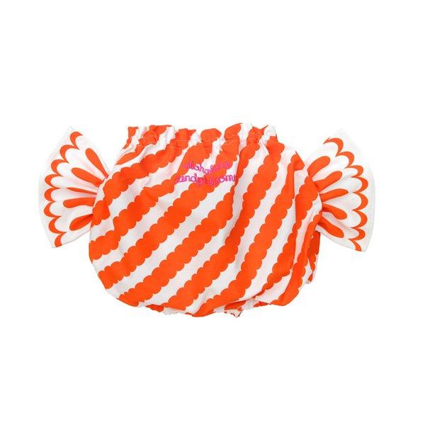 【Alohaloha】 キャンディブルマーAPPLE PEEL (オレンジ)