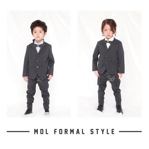 【MLP】モルスーツセット|ブラック|110-130cm