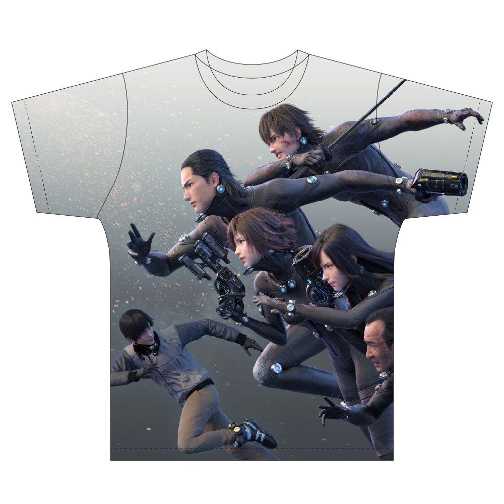 GANTZ:O パノラマTシャツ