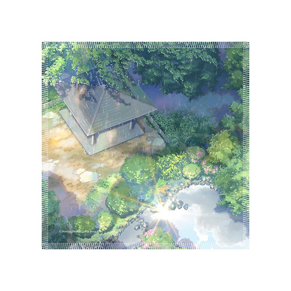 新海誠作品 Scenery mini towel 言の葉の庭 TypeA